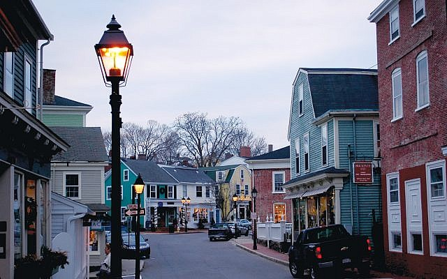 A charming block in downtown Marblehead. Wikimedia Commons
