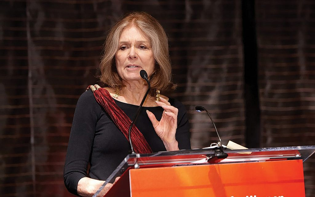 """Gloria Steinem in 1977: A life of """"convening and listening."""" Lynn Gilbert/Wikimedia Commons"""