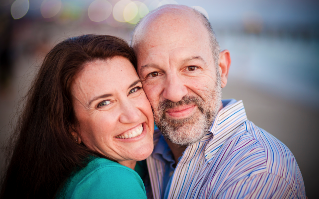 Andy and Jennifer met at a Torah study group. Courtesy of JC Lemmon