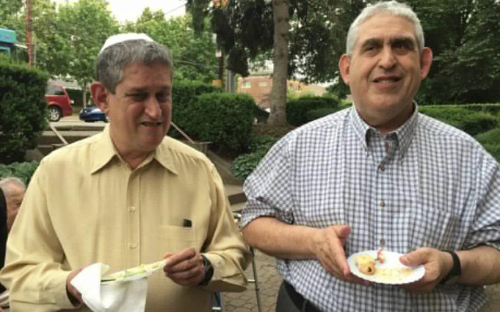 David and Cecil Rosenthal. Courtesy of Ellen Seidman