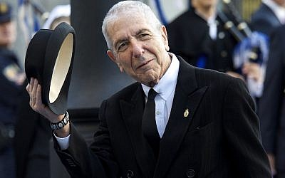 Leonard Cohen in Oviedo, Spain, Oct. 21, 2011. (JTA)
