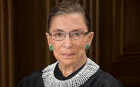 Supreme Court Justice Ruth Bader Ginsburg, 1933-2020