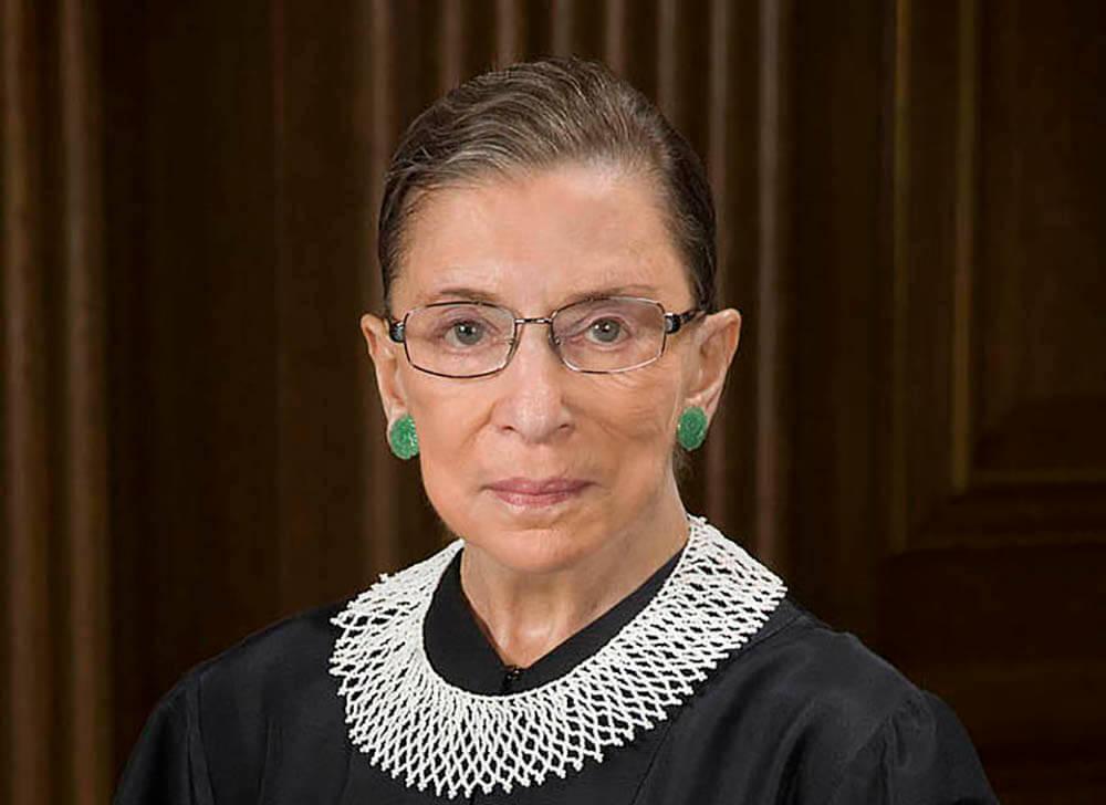 Supreme Court Justice Ruth Bader Ginsburg, 1933-2020