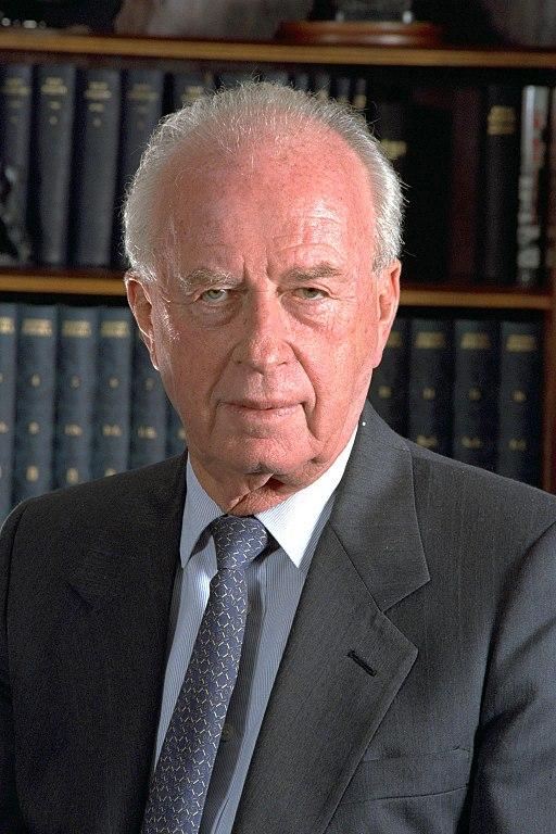 Yitchak Rabin. Wikimedia Commons