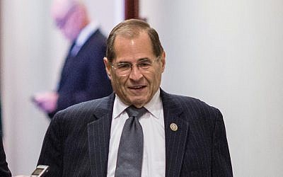 Manhattan/Brooklyn Rep. Jerry Nadler would take over the House Judiciary Committee if the Democrats flip the House. Getty Images