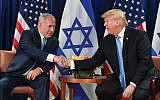 Netanyahu and Trump: Israeli officials suggest that the relationship may be too close for comfort. Getty Images
