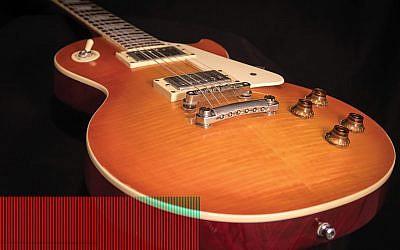 A Les Paul model guitar. Wikimedia Commons