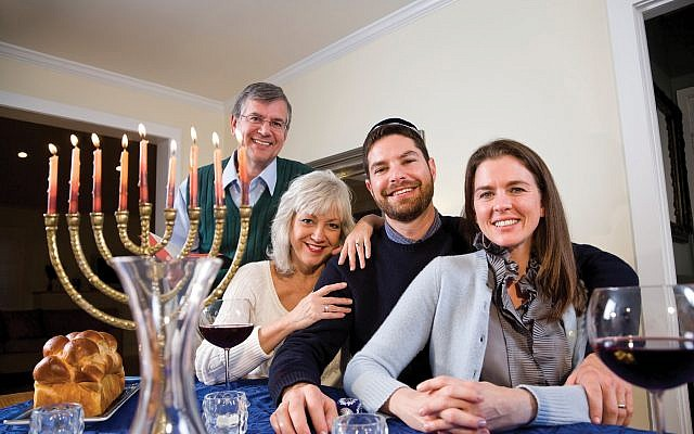 Interfaith families like this one are choosing Jewish paths. Interfaithfamily.com