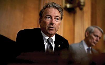 Kentucky. Sen. Rand Paul.
