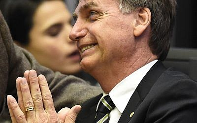 Jair Bolsonaro, the hardline president-elect of Brazil. Getty Images