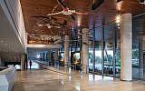The new Steinhardt Museum of Natural History in Tel Aviv. Steinhardt credit: Amit Geron Packer credit: Sivan Askayo