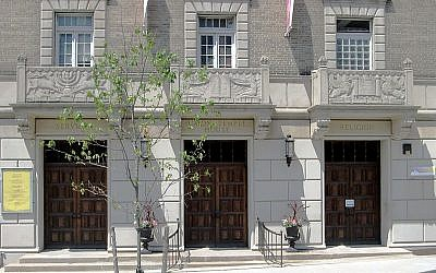 Union Temple in Brooklyn Heights. Wikimedia Commons