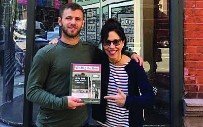 Dishing on housewares: Julie Gaines and Ben Lenovitz. Photos courtesy of Algonquin