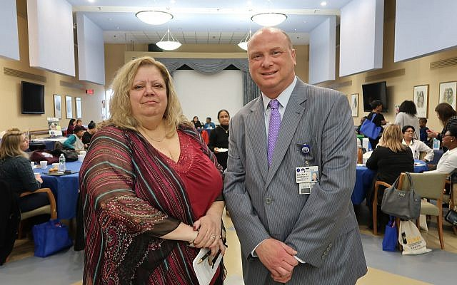 Paola Miceli, MPA, SNAP President and CEO, Michael N. Rosenblut, Parker President and CEO.