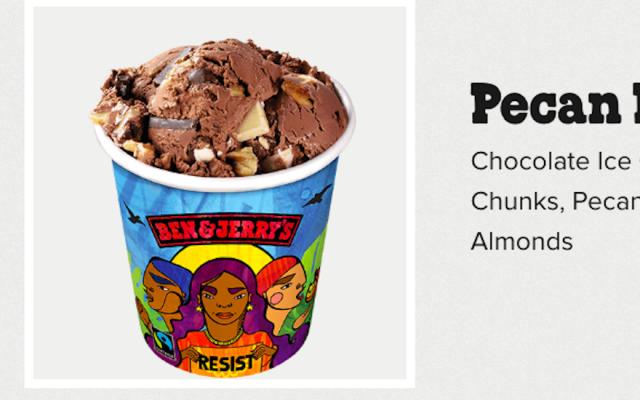 Ben & Jerry's Pecan Resist flavor (JTA)