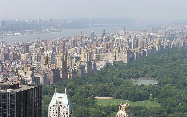 View of the Upper West Side from the Top of the Rock Observatory at Rockefeller Center. Wikimedia Commons/Nmattson10