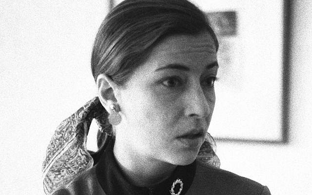 Ginsburg, in 1972, while she was teaching at Columbia Law School and serving with the ACLU.  Courtesy of Knopf