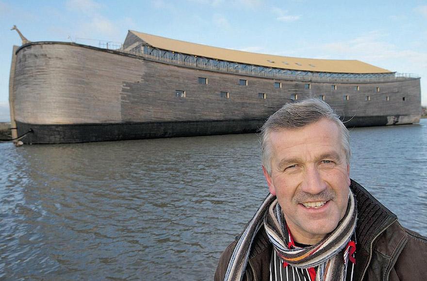 Dutch Christian Boatmaker Wants To Sail Life-Size Noah's Ark Replica To  Israel | Jewish Week