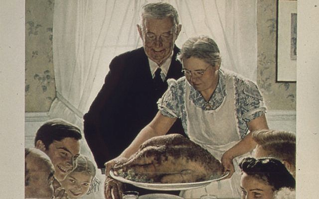 Freedom from Want (Norman Rockwell)