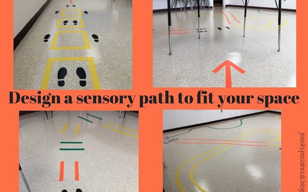 how jewish educators can create sensory paths