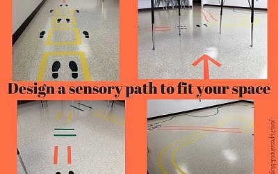 Sensory path design. Courtesy of Lisa Friedman