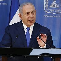 Israeli Prime Minister Benjamin Netanyahu. At a media conference in Israel last week, Netanyahu's government sought to pacify diaspora Jewry. Getty Images