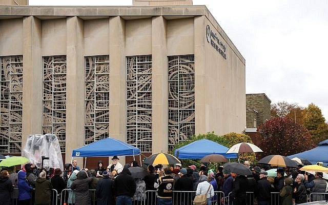 Pittsburgh Jewish officials say they want to compile a guide for communities that may face a similar kind of tragedy that struck the Tree of Life Synagogue. Getty Images