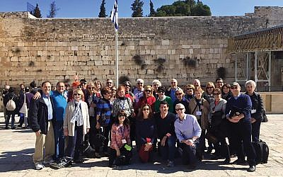 A 2016 trip to Israel. While Park Avenue Synagogue has an Israel excursion every year, this is the first time since 2007 that it will be congregation-wide trip.  Courtesy of Park Avenue Synagogue