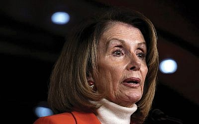 Nancy Pelosi's election as House speaker seems assured, but 30-40 Democrats have indicated that they may not support her. GETTY IMAGES