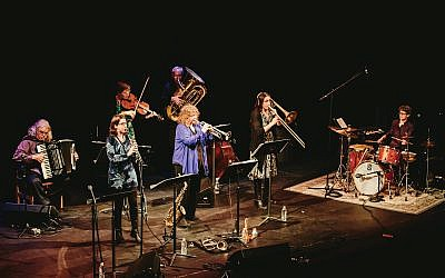 Metropolitan Klezmer will be performing their Merary Klezmer at Cornelia Street Café on December 25th. Photo credit: Christopher Lindsay