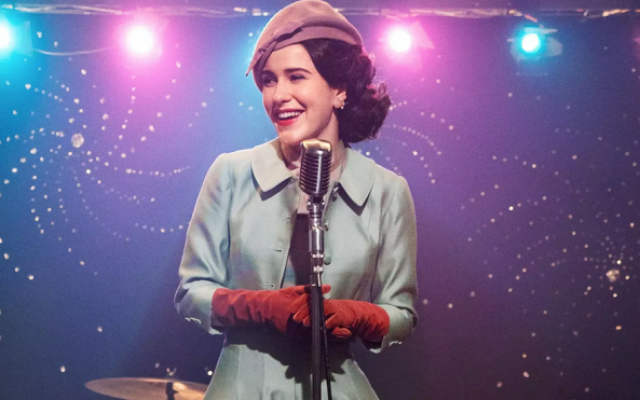 "Rachel Brosnahan plays Midge Maisel in the Emmy-winning show ""The Marvelous Mrs. Maisel."" (Amazon Prime)"