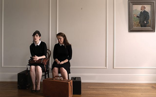 "Liba Vaynberg, left, and Emily Louise Perkins co-wrote and star in ""The Russian and the Jew."" Marti Margolin"