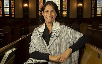 Cantor Laura Stein. (Courtesy) via Times Of Israel