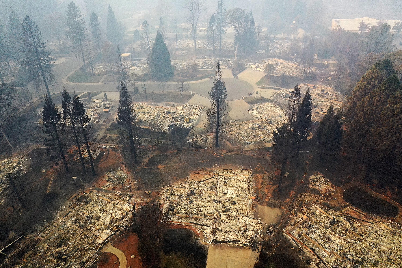 The Fires That Ravaged California   Jewish Week