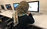 Nadia Batool Bokhari, a Pakistani journalist forced to seek refuge in the United States because of her job. (Courtesy)