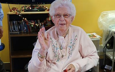 Mary Luniewski, one of Parker's Longest-Living Residents