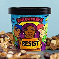 Ben & Jerry's new flavor, Pecan Resist. Youtube.