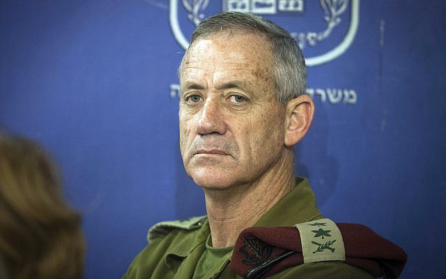 Former Gen. Benny Gantz is polling well against Prime Minister Netanyahu. Getty Images