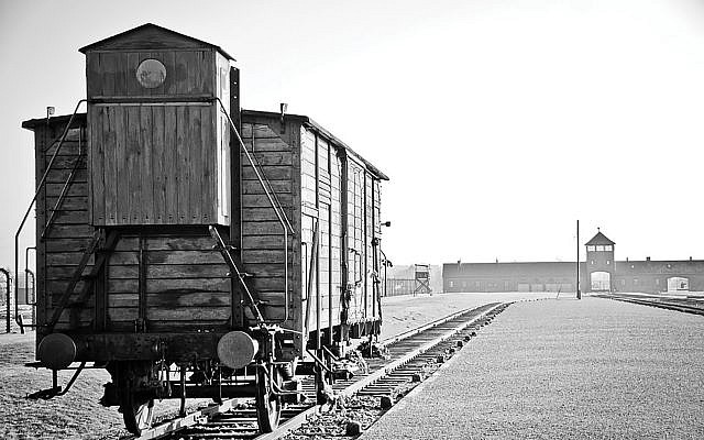 The tracks leading to Auschwitz. An attorney for the survivors said that Hungarian Jews were stripped of bank accounts, insurance policies, cash and personal property valued at the time at more than $1 billion. Pixabay