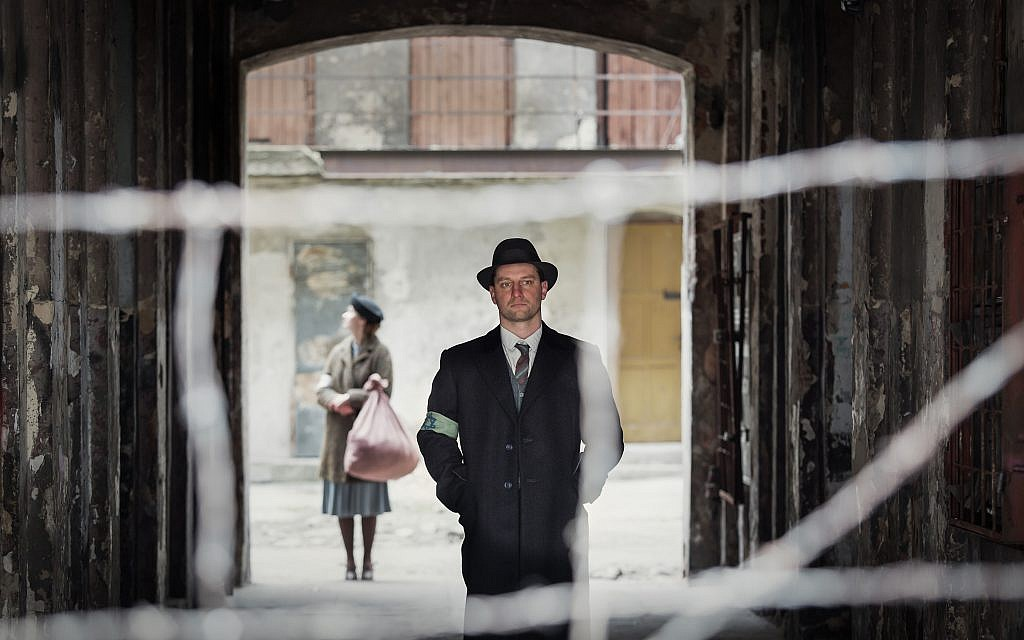 Actor Wojciech Zielinski as Oyneg Shabes member Abraham Lewin. Courtesy of Anna Wloch