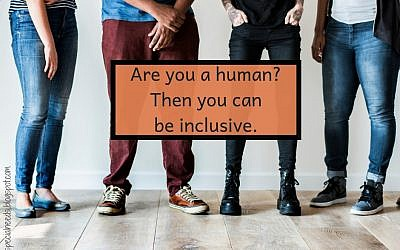 Inclusion. Courtesy of Lisa Friedman