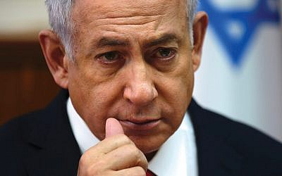 Prime Minister Netanyahu: Has won praise for handling of Iran-Syria-Russia situation. Getty Images