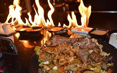 Kasai Kosher Hibachi is opening a new branch in Long Island. Courtesy Kasai