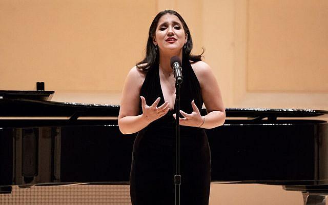 Abigail Yadegar performing at Carnegie Hall. Photo Courtesy of Abigail Yadegar