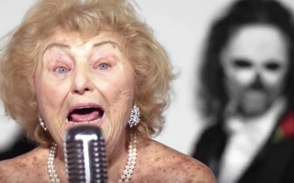 93-year-old Holocaust survivor Inge Ginsberg is a heavy metal music sensation. Via Times of Israel