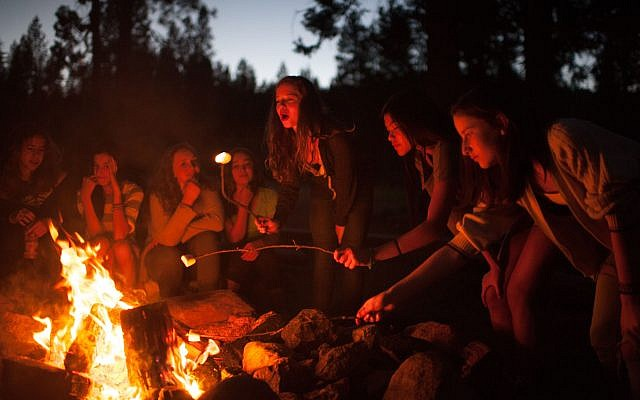 Camp Tawonga, a Jewish overnight camp in Northern California, has been ahead of the curve in welcoming nonbinary and LGBTQ campers and staffers. (Courtesy of Camp Tawonga) Via JTA