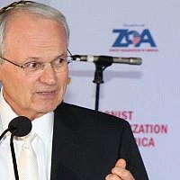 Mort Klein of ZOA. Courtesy of Joseph Savetsky/ZOA