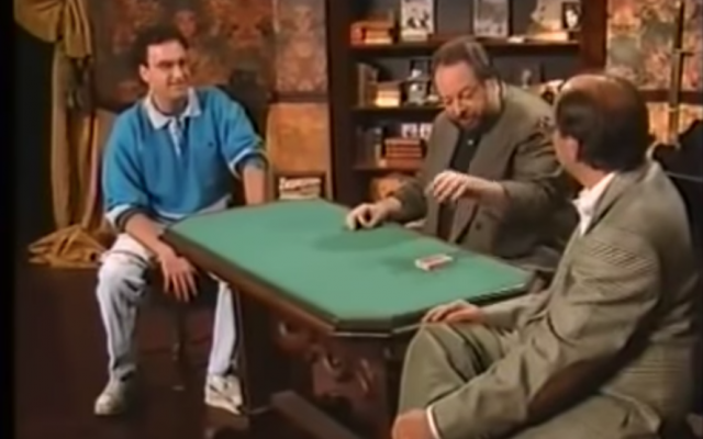Ricky Jay in action. Screenshot/Youtube