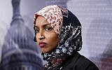 Minnesota Rep. Ilhan Omar issued an apology following her anti-Semitic tweet. Getty Images