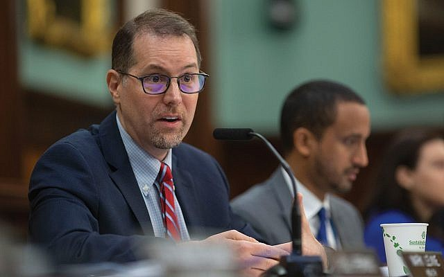 Upper Manhattan Councilman Mark Levine says his recently passed bill creating a mayor's office on hate crimes will bring more resources to combat the problem.  John McCarten/NYC Council